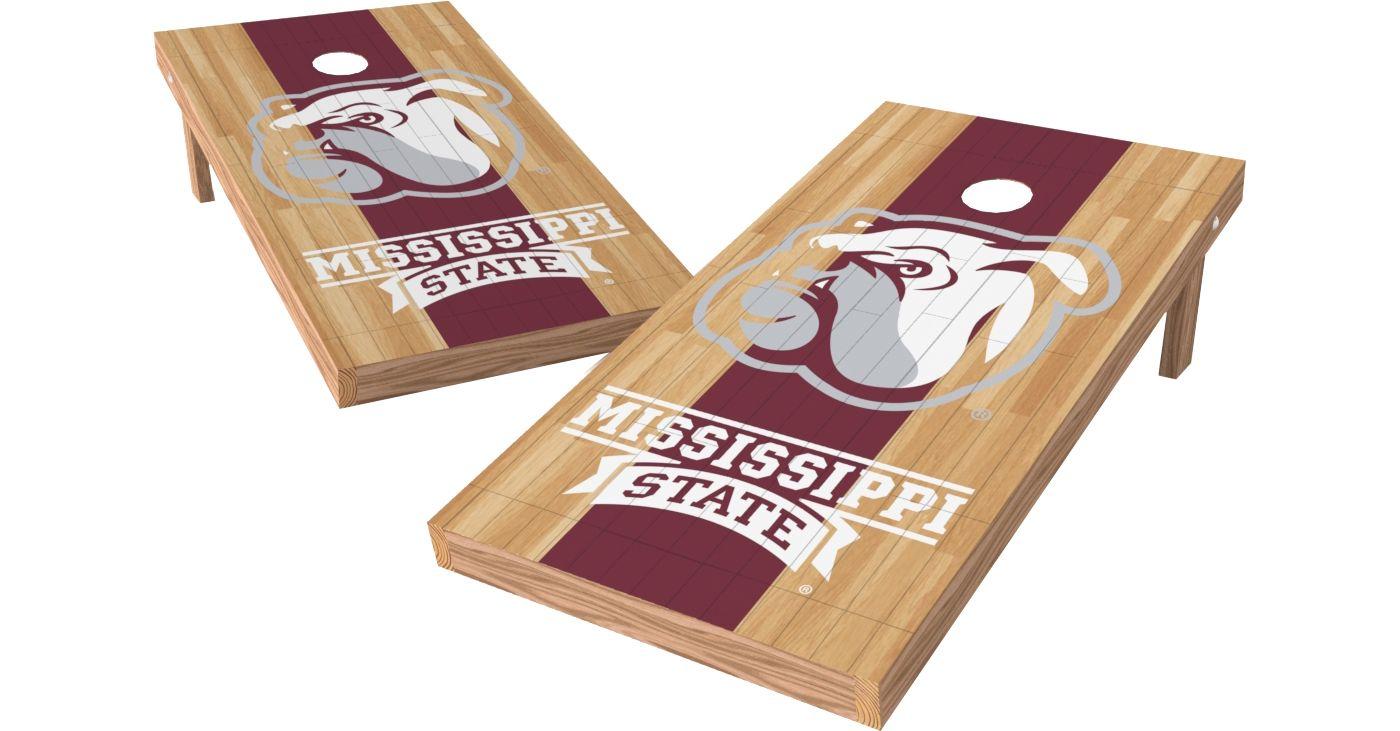 Wild Sports 2' x 4' Mississippi State Bulldogs XL Tailgate Bean Bag Toss Shields