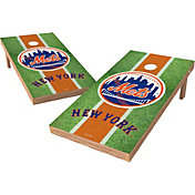 Wild Sports 2' x 4' New York Mets XL Tailgate Bean Bag Toss Shields