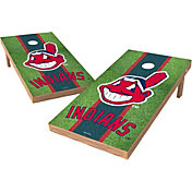 Wild Sports 2' x 4' Cleveland Indians XL Tailgate Bean Bag Toss Shields