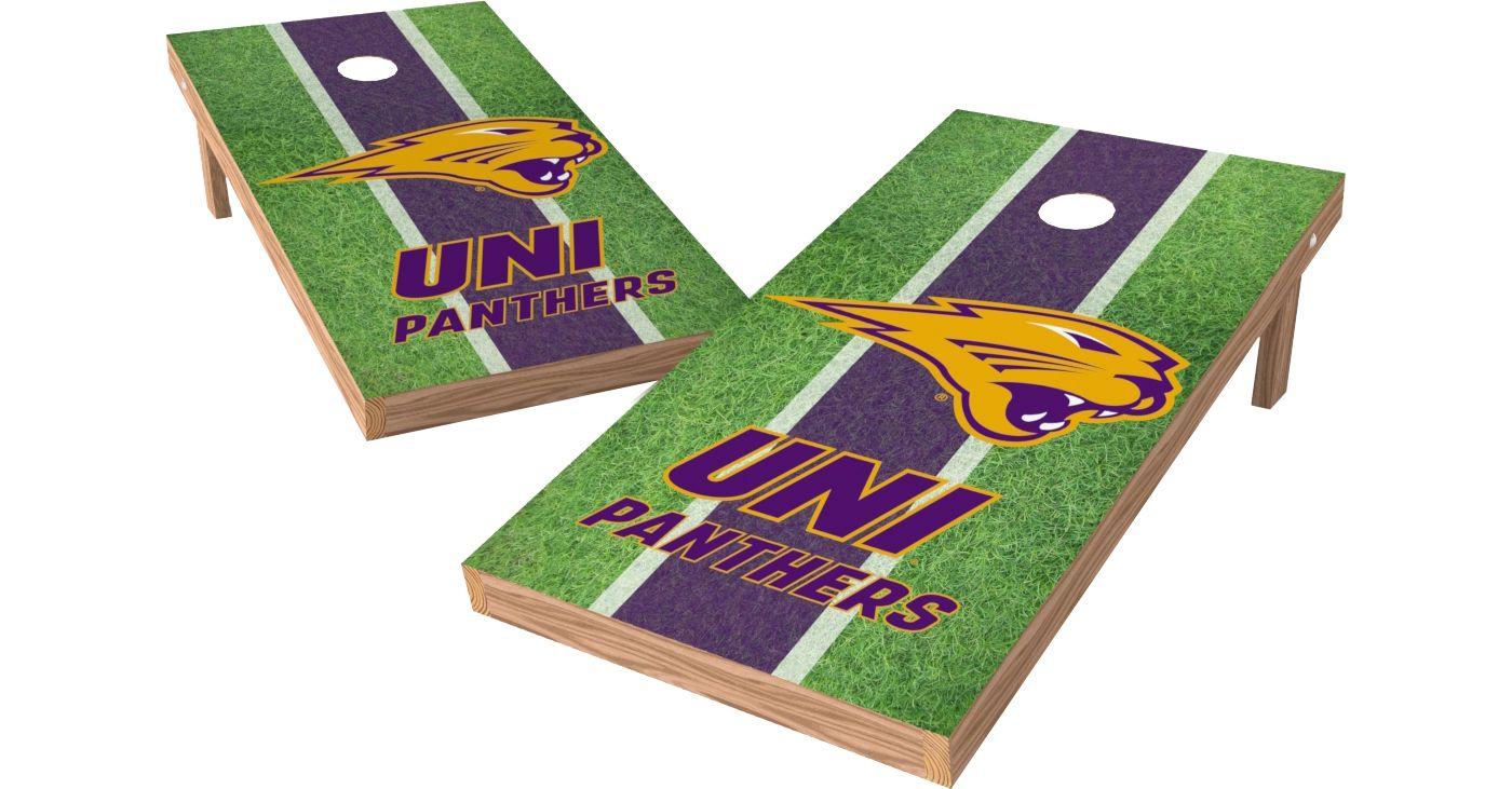Wild Sports 2' x 4' Northern Iowa Panthers XL Tailgate Bean Bag Toss Shields