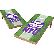 Wild Sports 2' x 4' NYU Violets XL Tailgate Bean Bag Toss Shields