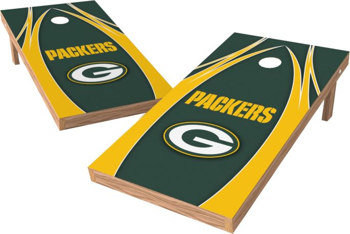 Groovy Wild Sports 2 X 4 Green Bay Packers Xl Tailgate Bean Bag Toss Shields Evergreenethics Interior Chair Design Evergreenethicsorg