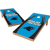 Wild Sports 2' x 4' Carolina Panthers XL Tailgate Bean Bag Toss Shields