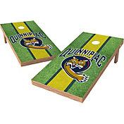 Wild Sports 2' x 4' Quinnipiac Bobcats XL Tailgate Bean Bag Toss Shields