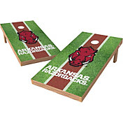 Wild Sports 2' x 4' Arkansas Razorbacks XL Tailgate Bean Bag Toss Shields