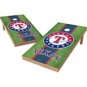Wild Sports 2' x 4' Texas Rangers XL Tailgate Bean Bag Toss Shields