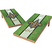 Wild Sports 2' x 4' New Orleans Saints XL Tailgate Bean Bag Toss Shields
