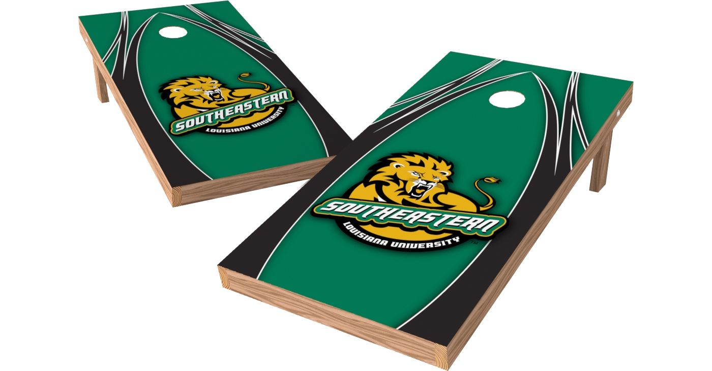 Wild Sports 2' x 4' Southeastern Louisiana Lions XL Tailgate Bean Bag Toss Shields