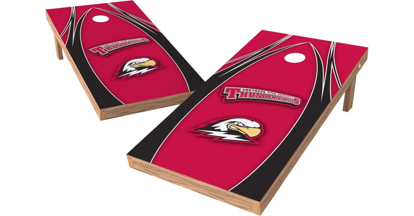 Wild Sports 2' x 4' Southern Utah Thunderbirds XL Tailgate Bean Bag Toss Shields