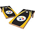 Wild Sports 2' x 4' Pittsburgh Steelers XL Tailgate Bean Bag Toss Shields