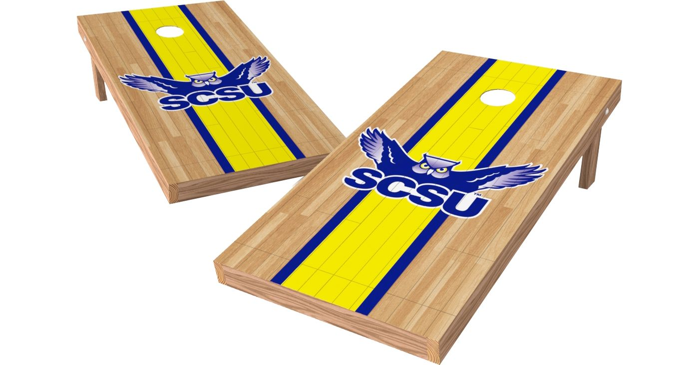 Wild Sports 2' x 4' Southern Connecticut State Owls XL Tailgate Bean Bag Toss Shields