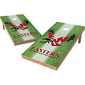 Wild Sports 2' x 4' Eastern Washington Eagles XL Tailgate Bean Bag Toss Shields