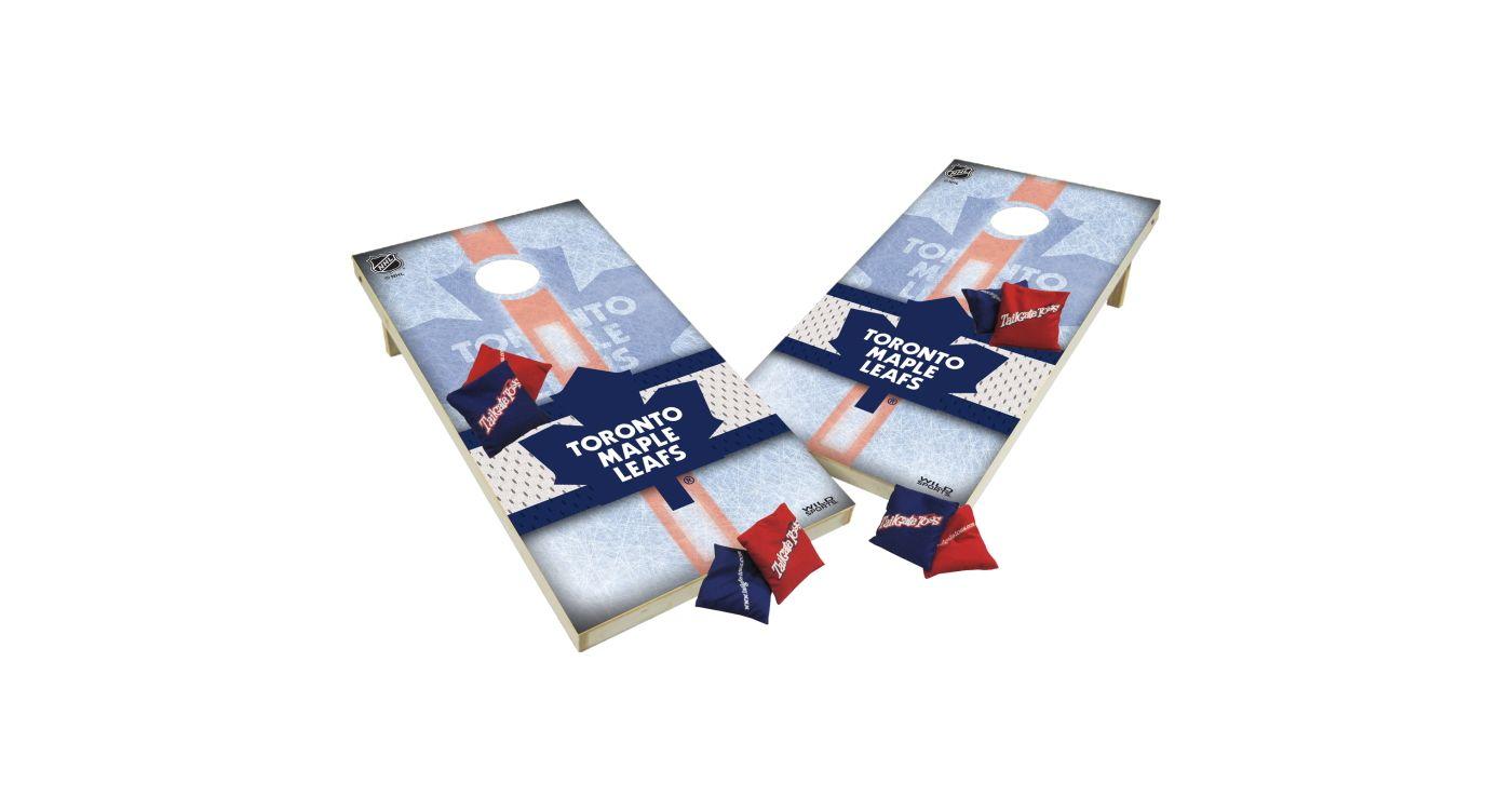 Wild Sports 2' x 4' Toronto Maple Leafs XL Tailgate Bean Bag Toss Shields