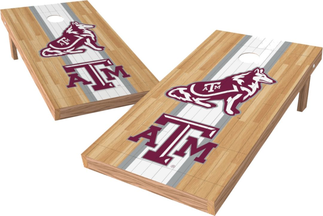 Incredible Wild Sports 2 X 4 Texas Am Aggies Xl Tailgate Bean Bag Toss Shields Ibusinesslaw Wood Chair Design Ideas Ibusinesslaworg
