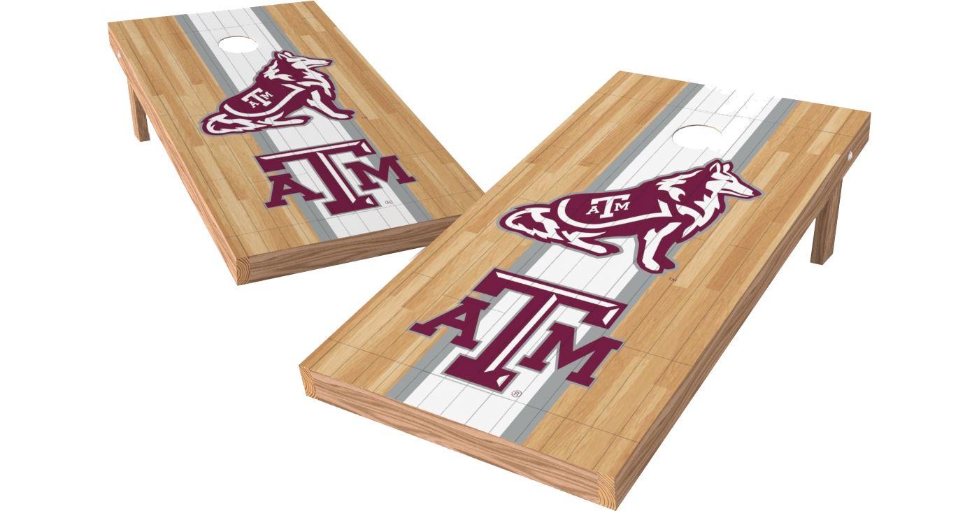 Wild Sports 2' x 4' Texas A&M Aggies XL Tailgate Bean Bag Toss Shields
