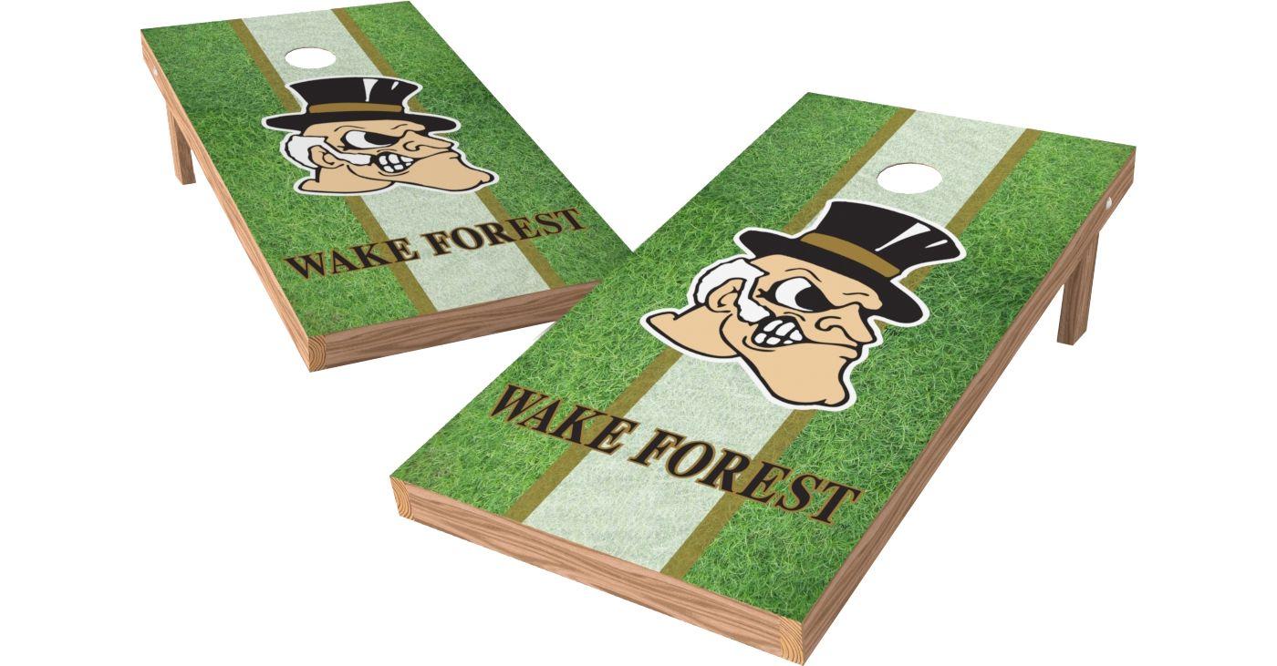 Wild Sports 2' x 4' Wake Forest Demon Deacons XL Tailgate Bean Bag Toss Shields