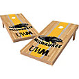 Wild Sports 2' x 4' Wisconsin Milwaukee Panthers XL Tailgate Bean Bag Toss Shields