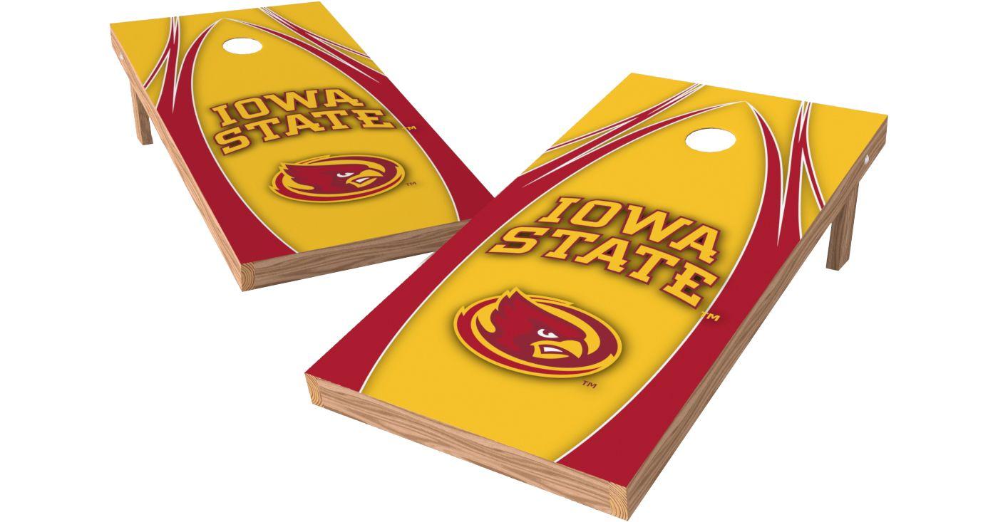 Wild Sports 2' x 4' Iowa State Cyclones XL Tailgate Bean Bag Toss Shields