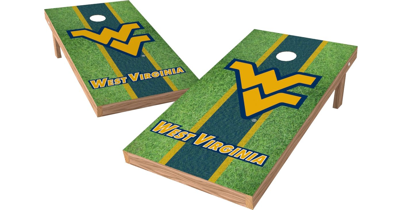Wild Sports 2' x 4' West Virginia Mountaineers XL Tailgate Bean Bag Toss Shields