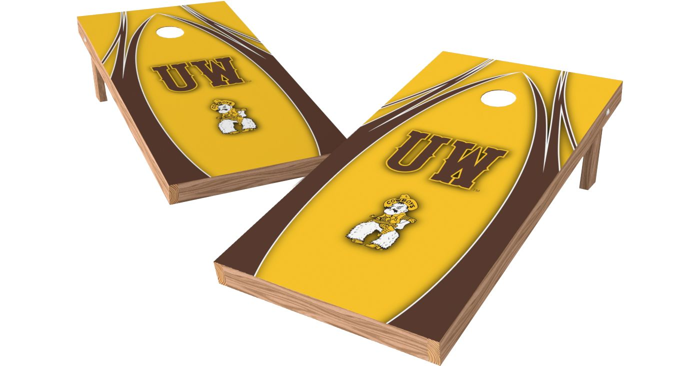 Wild Sports 2' x 4' Wyoming Cowboys XL Tailgate Bean Bag Toss Shields