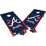 Wild Sports 2' x 4' Atlanta Braves XL Tailgate Bean Bag Toss Shields