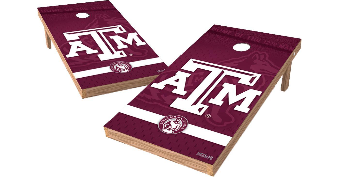 Wild Sports 2' x 4' Texas A&M XL Tailgate Bean Bag Toss Shields