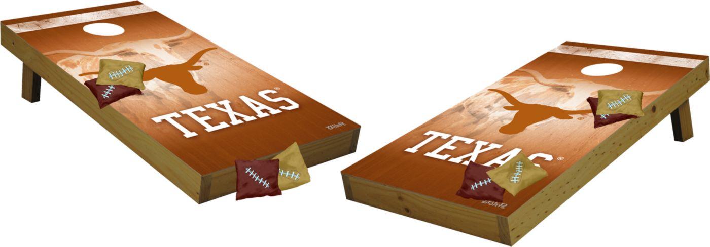Wild Sports 2' x 4'  Texas Longhorns Tailgate Bean Bag Toss Shields