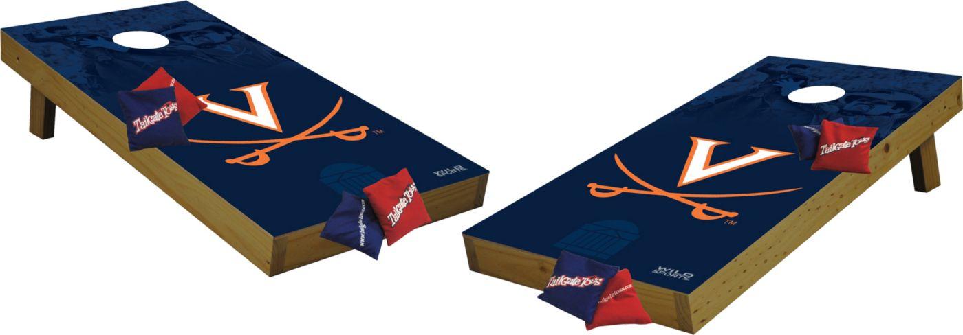 Wild Sports 2' x 4'  Virginia Cavaliers Tailgate Bean Bag Toss Shields