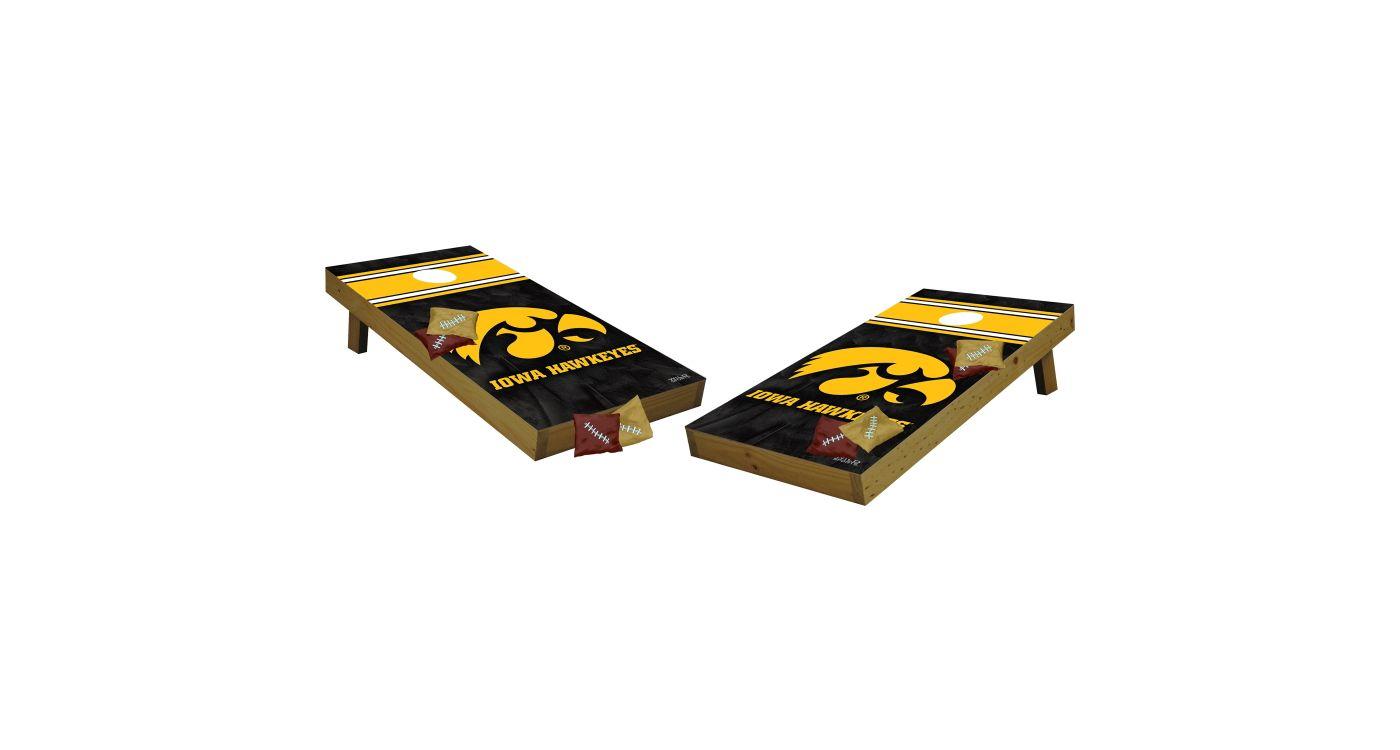 Wild Sports 2' x 4' Iowa Hawkeyes Tailgate Bean Bag Toss Shields