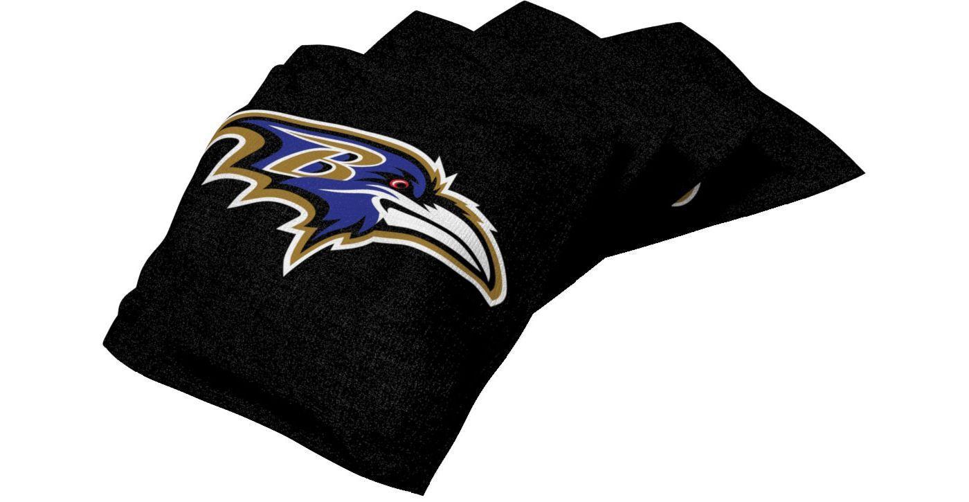 Wild Sports Baltimore Ravens XL Cornhole Bean Bags