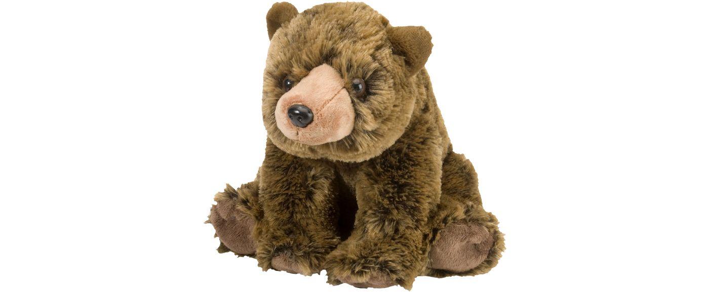 Wild Republic Cuddlekin Grizzly Bear Stuffed Animal