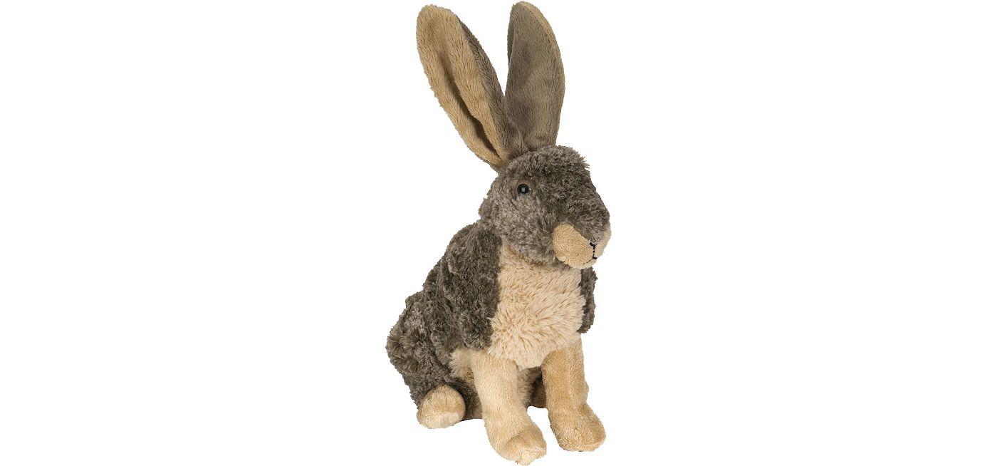 Wild Republic Cuddlekin Hare Stuffed Animal