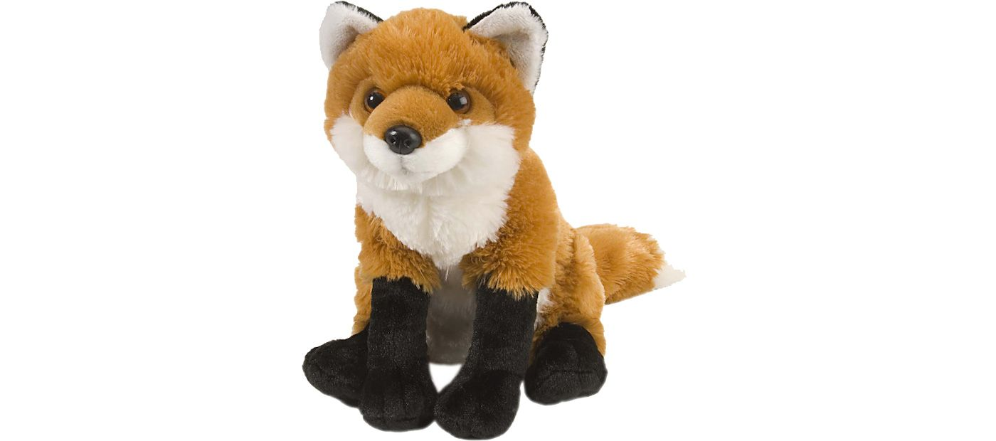 Wild Republic Cuddlekin Red Fox Stuffed Animal
