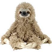 Wild Republic Cuddlekin Three-Toed Sloth Stuffed Animal