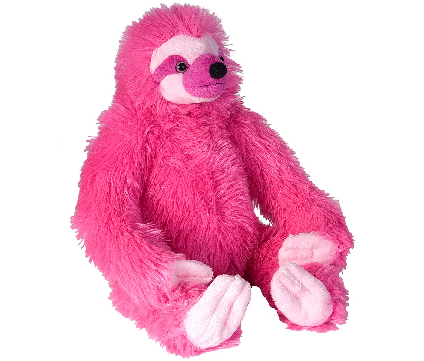 Wild Republic Pink Sloth Stuffed Animal