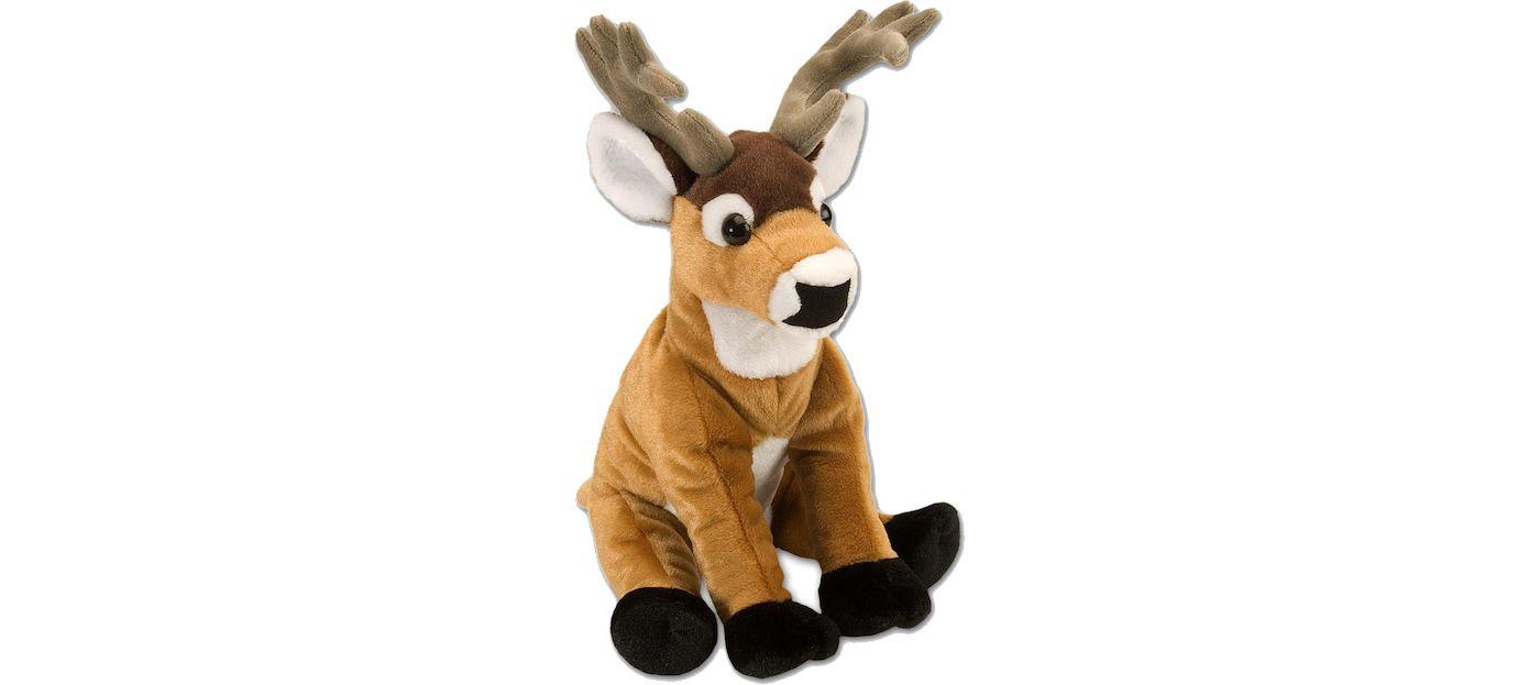 Wild Republic Cuddlekin White Tail Deer Stuffed Animal