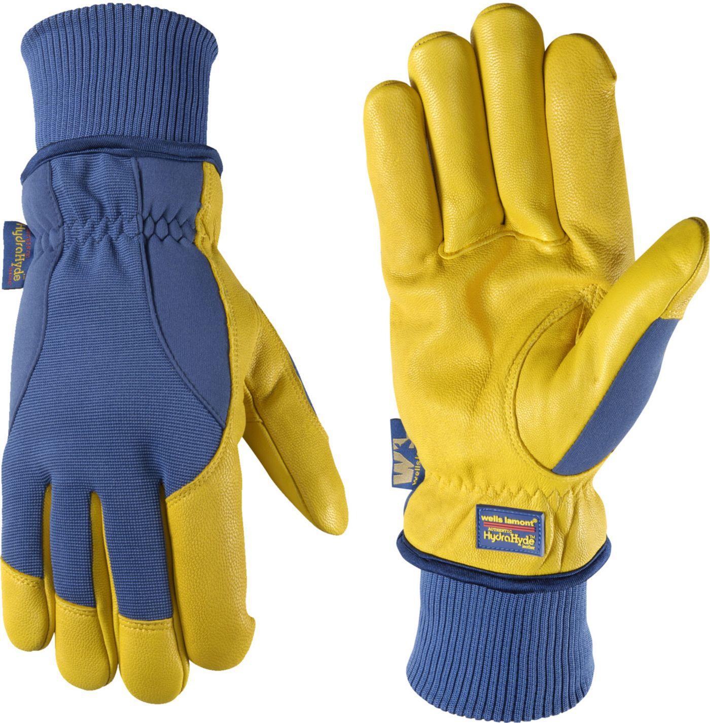 Wells Lamont Men's HydraHyde Goatskin Gloves