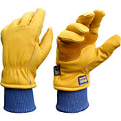 Wells Lamont Men's HydraHyde Grain Cowhide Gloves