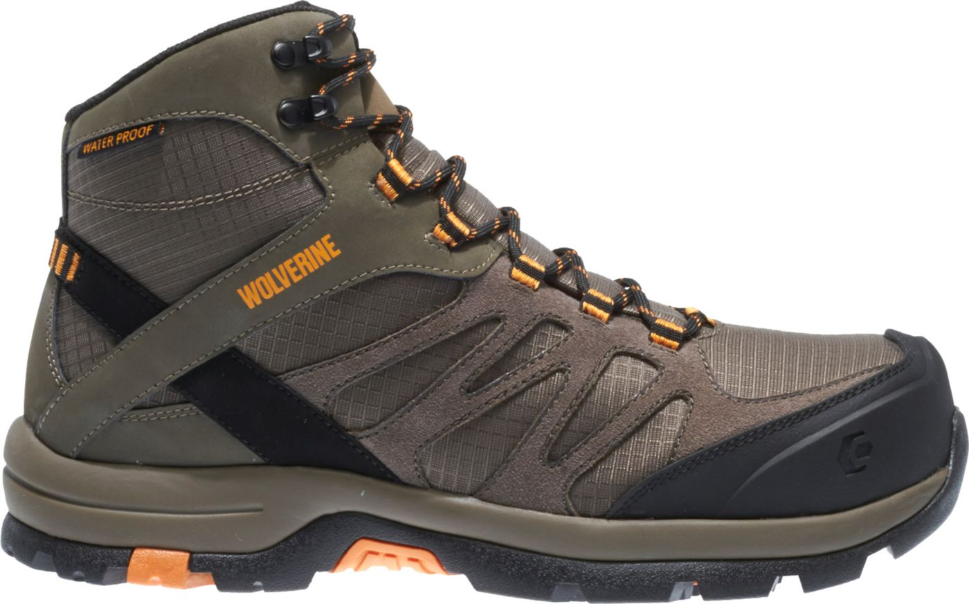 Wolverine Men's Fletcher Mid Waterproof CarbonMax EH Hiking Boots