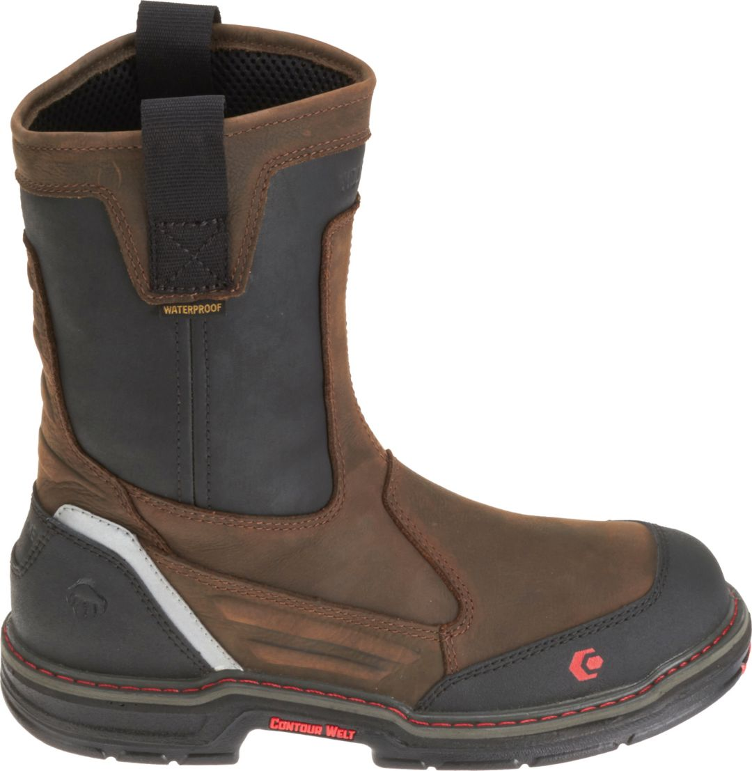d47a5373e8e Wolverine Men's Overman Waterproof CarbonMax 10'' EH Work Boots