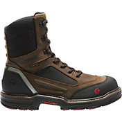 "Wolverine Men's Overman Waterproof CarbonMax 8"" EH Work Boots"
