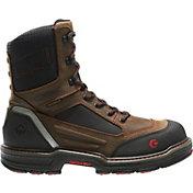 """Wolverine Men's Overman Waterproof CarbonMax 8"""" EH Work Boots"""