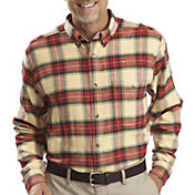 Woolrich Men's Trout Run Plaid Flannel Long Sleeve Shirt