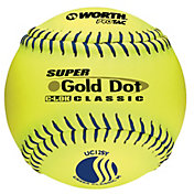 "Worth 12"" USSSA Super Gold Dot Slow Pitch Softball"