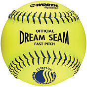 "Worth 12"" USSSA Official Dream Seam Fastpitch Softball"