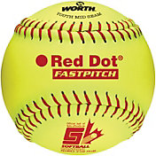 "Worth 11"" ASA Red Dot Fastpitch Softball"