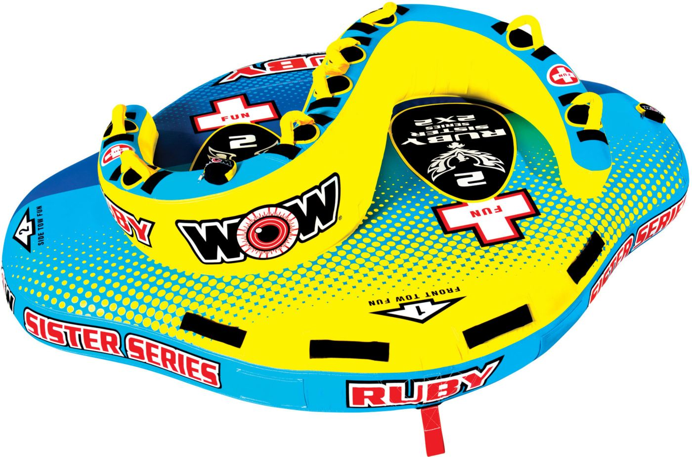WOW Ruby 2 Person Sister Towable Tube