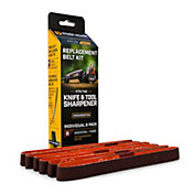 "Work Sharp Knife and Tool Sharpener Replacement Belt Kit – P220 Medium Grit Bulk Pack ½"" x 12"""