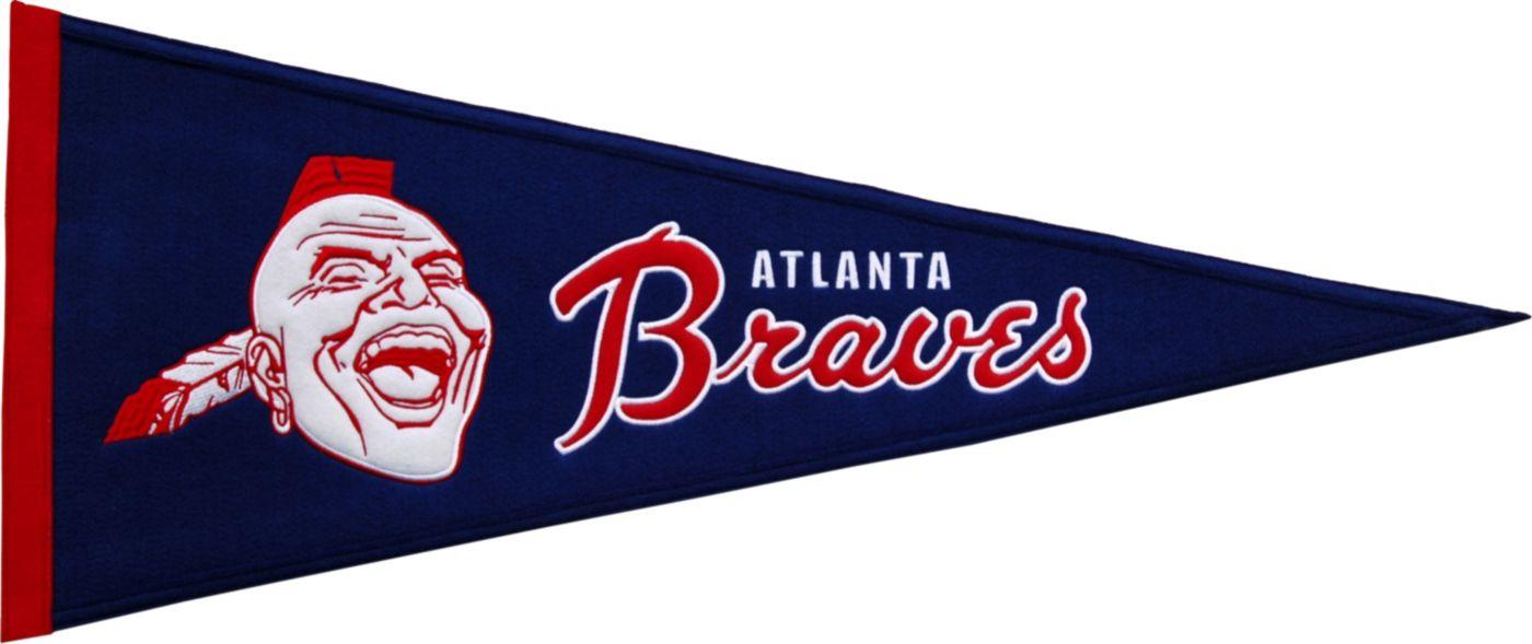 Atlanta Braves Cooperstown Pennant
