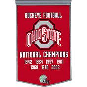 Ohio State Buckeyes Football National Champions Banner